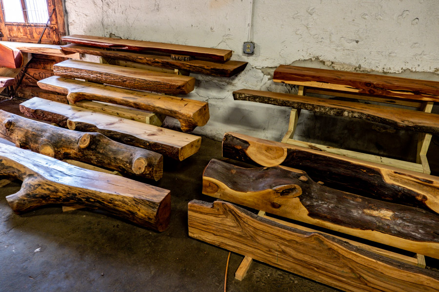 Valley Mills Mantels - Custom fireplace mantels created by Aubrey